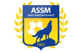 Logo ASSM Football   Benjamin PIEGAY, graphiste à Lyon et dans les Monts du Lyonnais