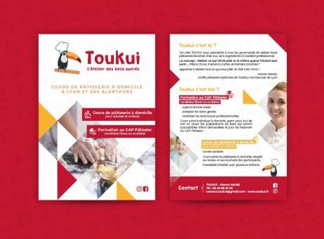 Flyer pour TOUKUI à Lyon
