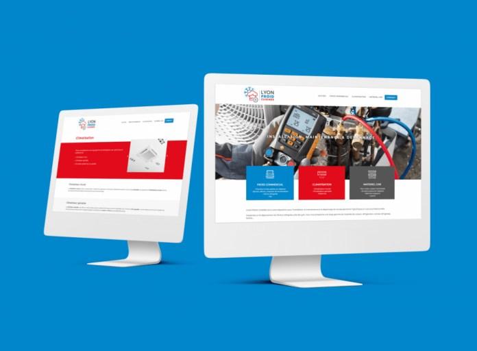 Site internet WordPress LYON FROID CUISINES