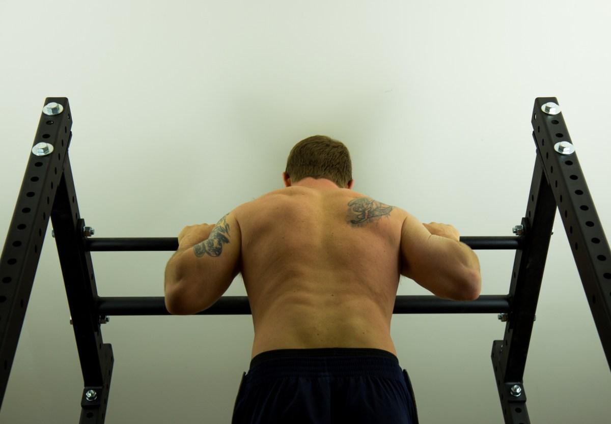ben doing a pullup