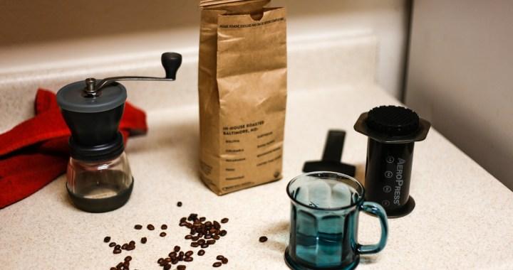my coffee making kit