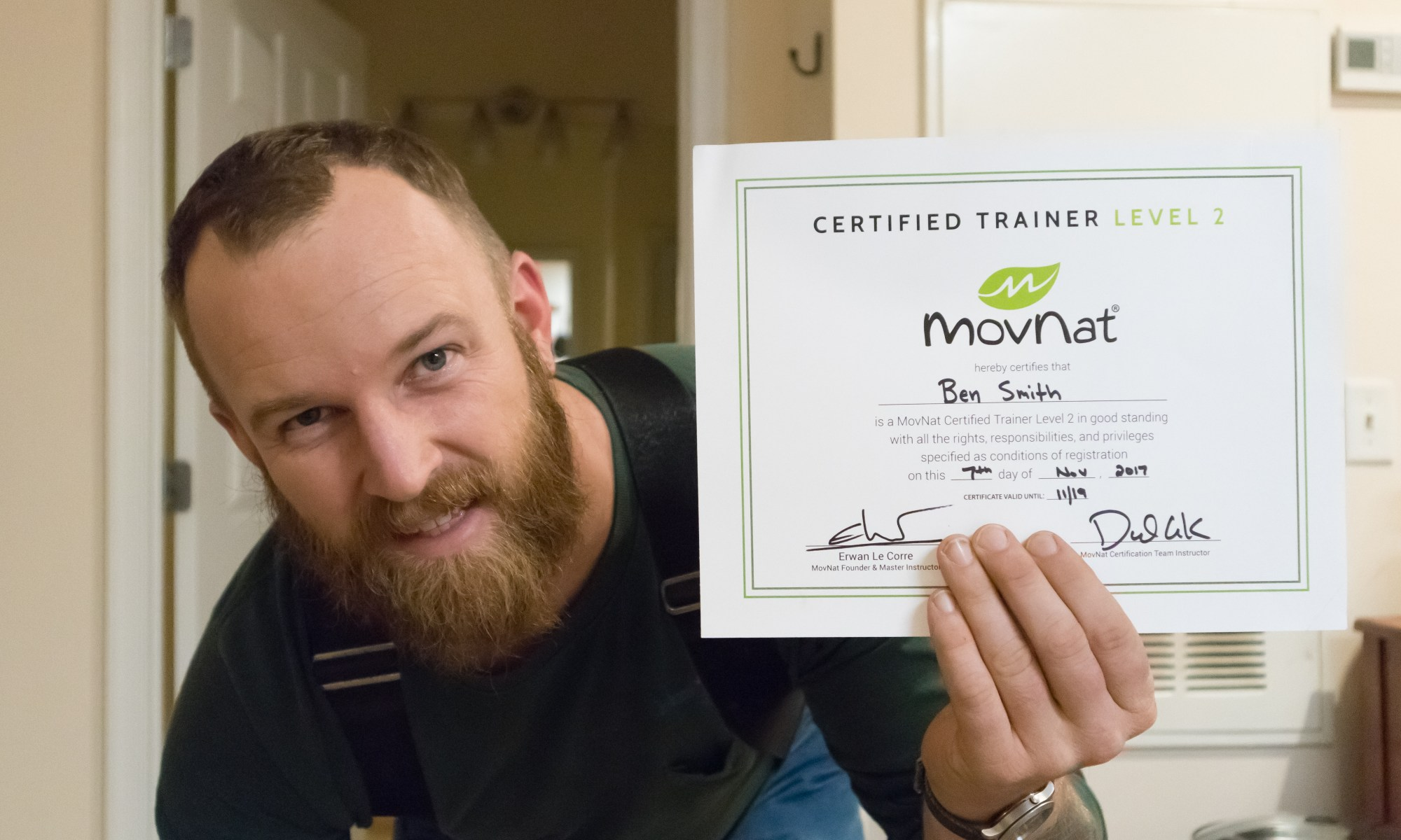 me with movnat level 2 cert