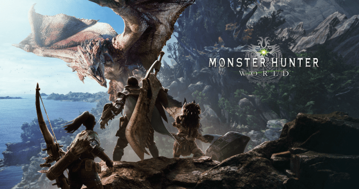 monster hunter world title screen