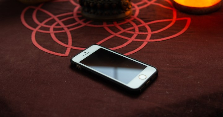 Cell phone on the table