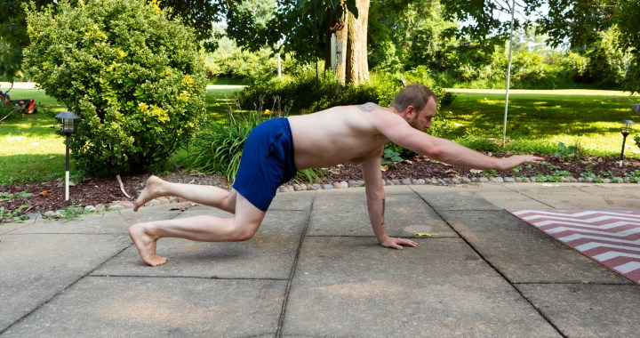 practicing contralateral balancing
