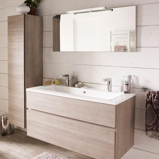 double vasque castorama ambiance simple et chaleureuse. Black Bedroom Furniture Sets. Home Design Ideas