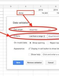 Data validation selection menu also step by guide on how to create dynamic charts in google sheets rh benlcollins