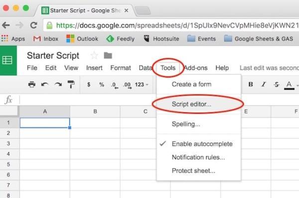 Google Sheets script tutorial Beginner guide to coding