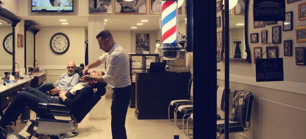 Barbershop hipster beard