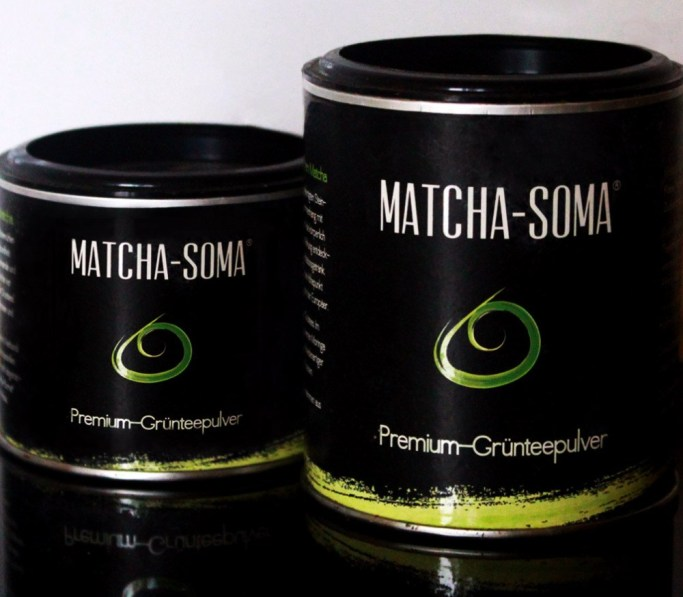 Package Design for Matcha-Soma