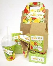 Package Design for Frucht:bar