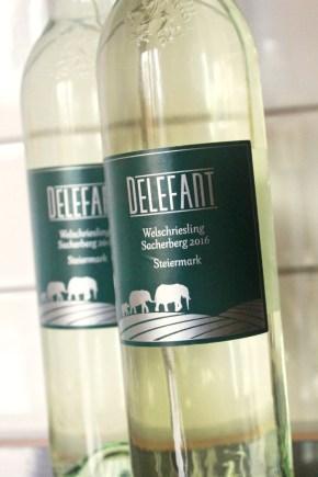 Wine Label (Final Design) for Delefant