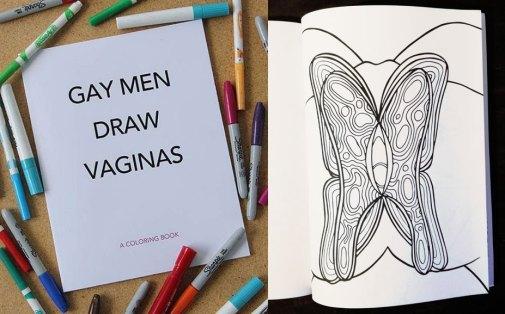 Illustration for Gay Men Draw Vaginas