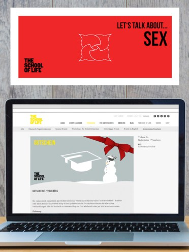 Online Banners for The School of Life