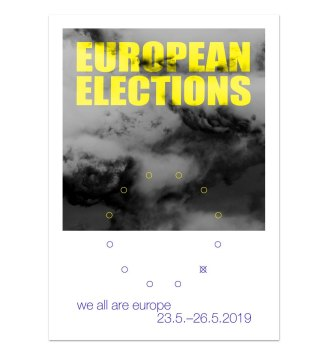 Poster for EU elections