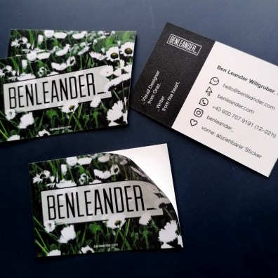 Personal Sticker/Business Cards