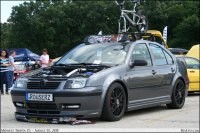 Grey MkIV Jetta with roofrack - BenLevy.com