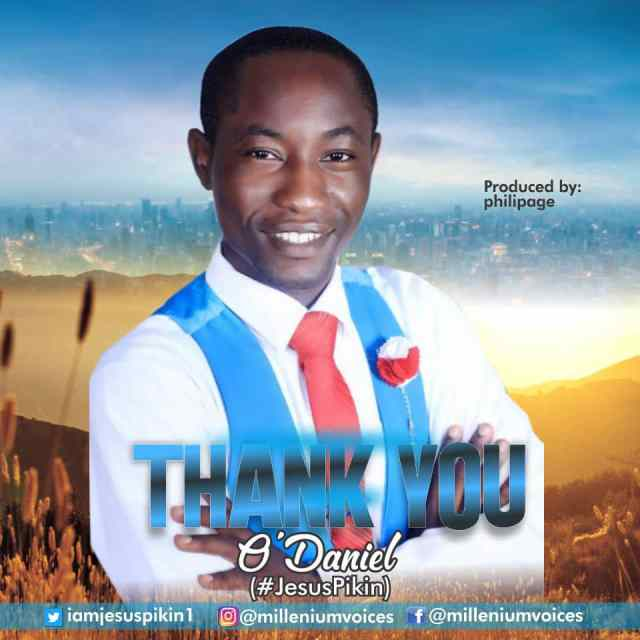 Thank You By O Daniel