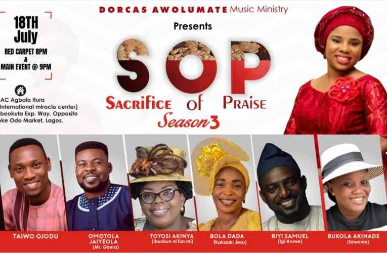 Dorcas Awolumate Unveils Lineup For #SOP3 Including Biyi Samuel, Bukola Akinade Sewenle, Others!