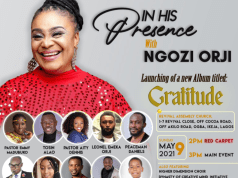 NGOZI ORJI - IN HIS PRESENCE