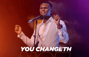 AYOTUNDE OLUMIDE - YOU CHANGETH NOT