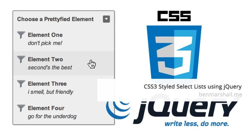 CSS3 Styled Select