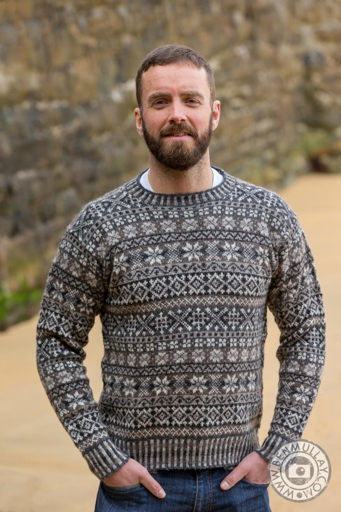 Jamieson's of Shetland Website Relaunch | Raga Pullover Knitwear designed by Violet McQuade