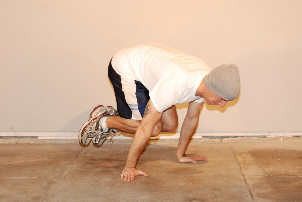 overcoming gravity - tuck planche