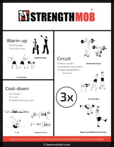 Home exercise workout 008
