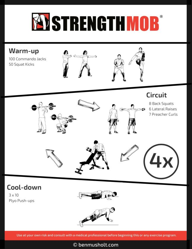 At home workout 18