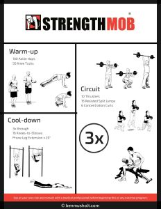 At-home workout #22
