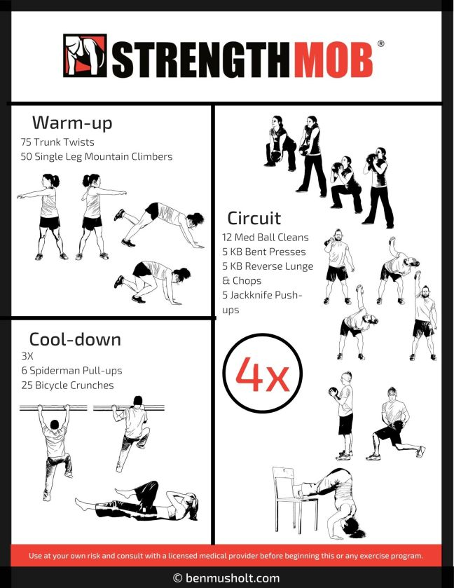 Indoor At Home Workout