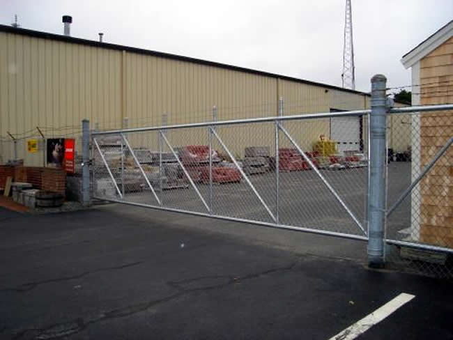 Image Result For Chain Link Fence Gate
