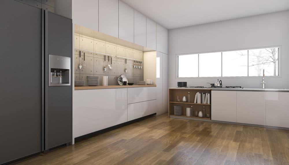 kitchen flooring trends remodels with white cabinets to inspire you bennetts carpets