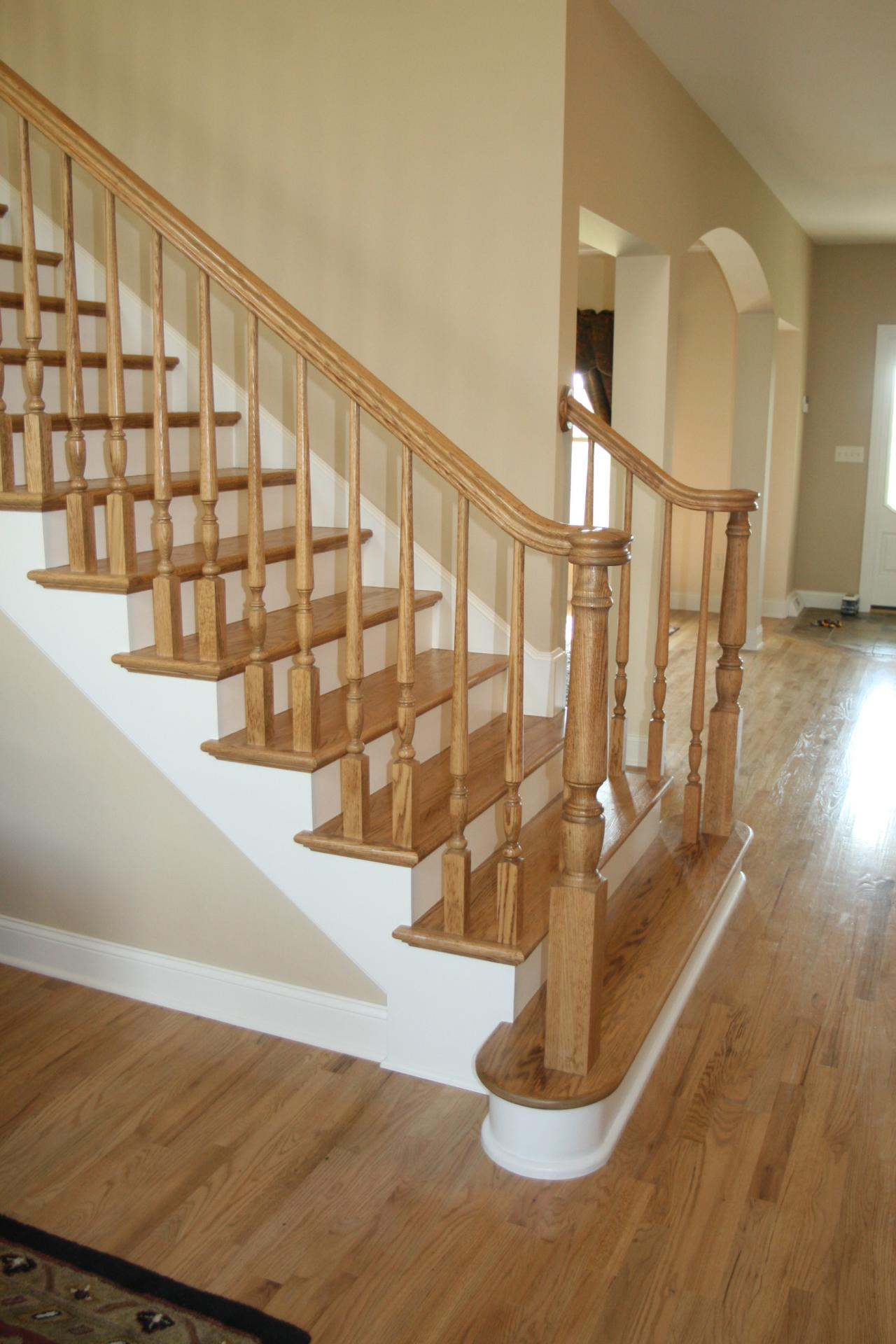 Staircase Newel Post Designs