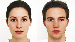 New female and male model
