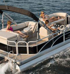s21 cruise pontoon boats by bennington [ 1366 x 744 Pixel ]