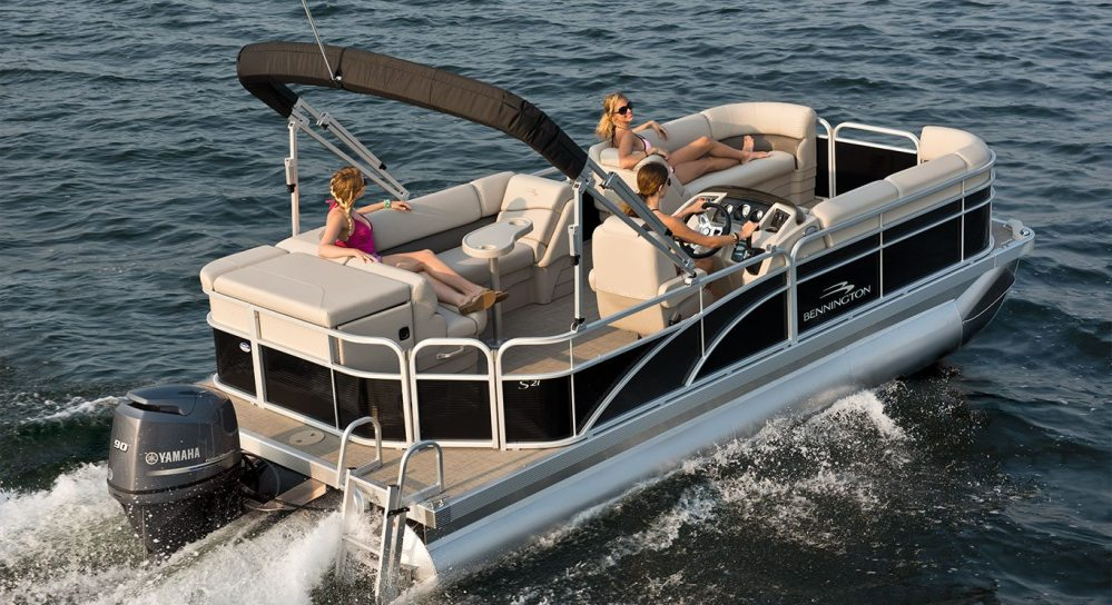 medium resolution of s21 cruise pontoon boats by bennington