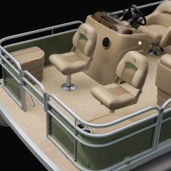Fishing Pontoon Chair Bedroom Brown 2018 S188 Small Boats By Bennington