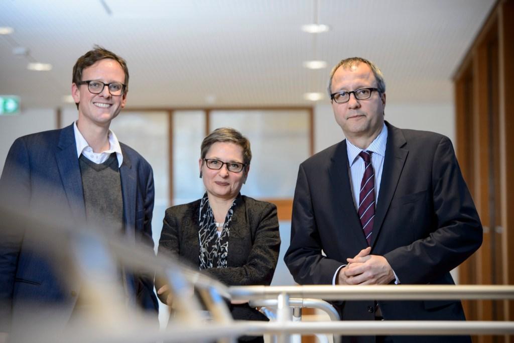 © Andy Ridder, Bettina Limburg, Präsidentin des Bundesgerichtshofs und Andreas Voßkuhle, Präsident des Bundesverfassungsgerichts