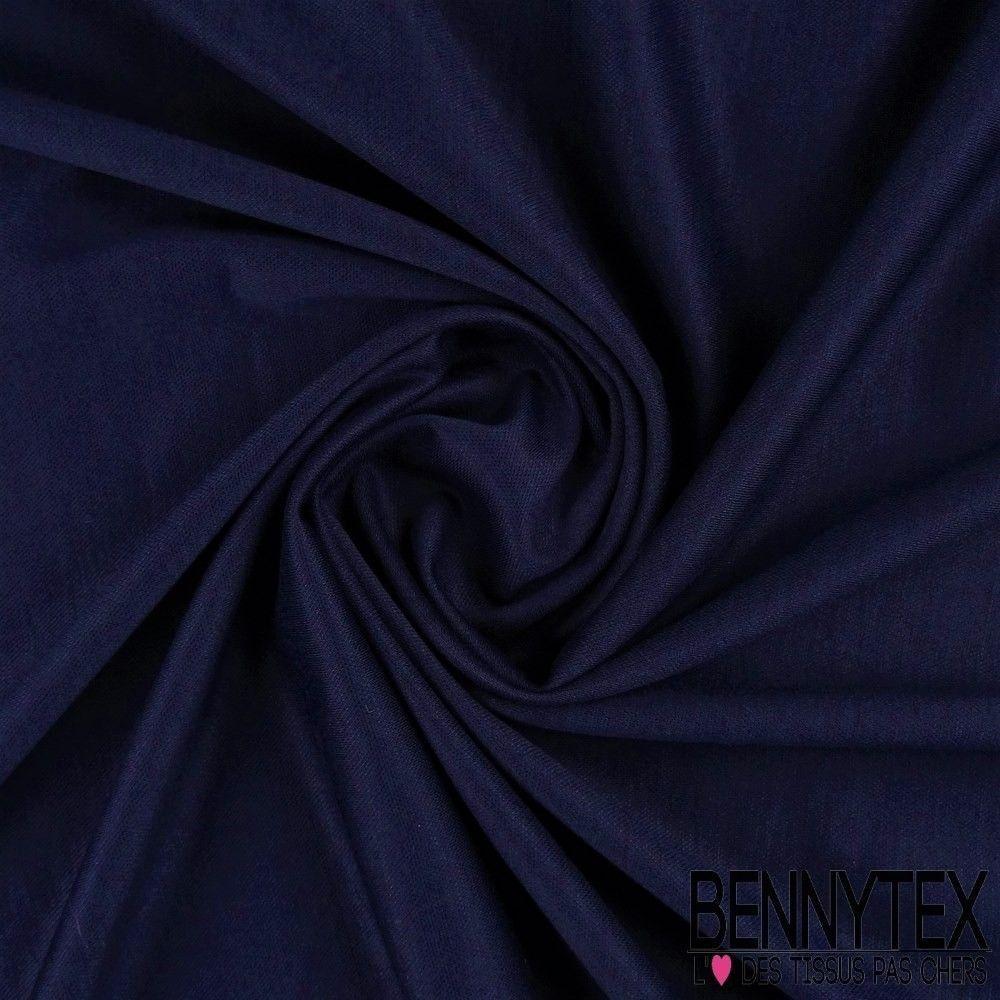 Jersey Milano Piqu Couleur Bleu Marine  Bennytex vente de tissus pas cher au mtre