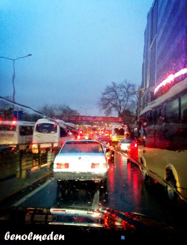 maslak trafik