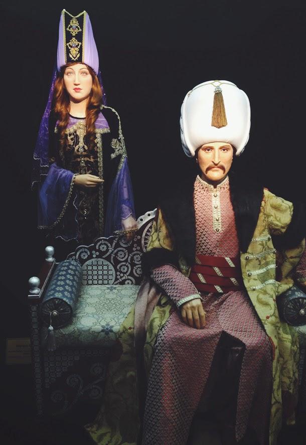 hurrem sultan kanuni balmumu heykel