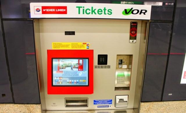 viyana metro bilet