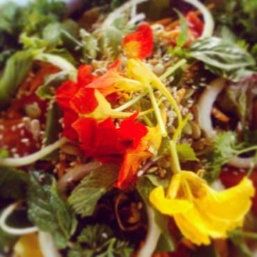 Garden Flower Salad