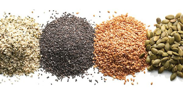 Super seeds: chia, flax and hemp