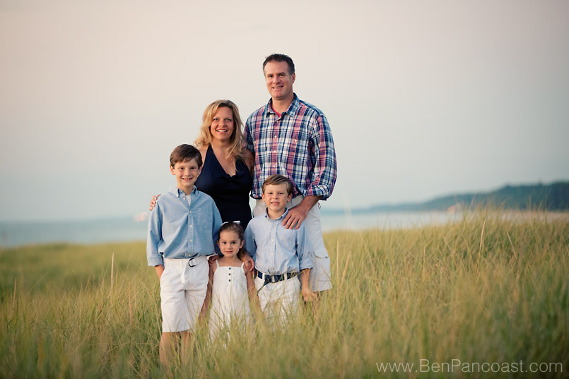 Family Portraits on the Beach  Saint Joseph Mi