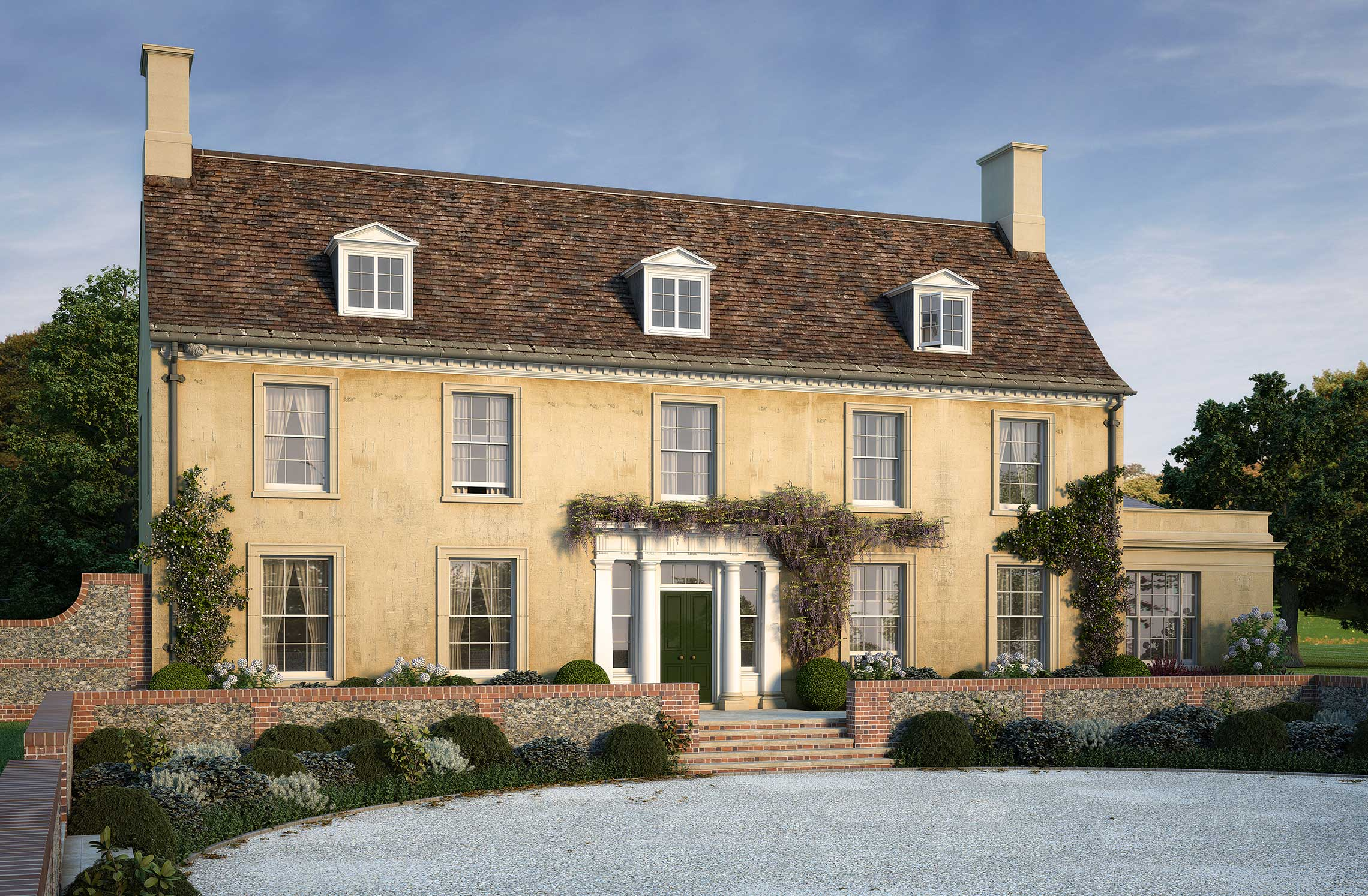 Awesome 20 Images New Build Georgian House  Building Plans Online