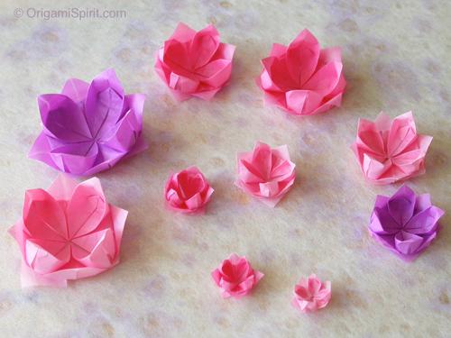 origami-lotus
