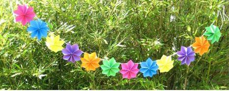paper flower garland4
